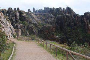 zona de atracción turística para realizar excursiones y actividades en familia