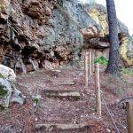 Hacer turismo con niños en Geoparque Villuercas en Extremadura.