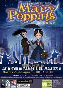 nueva obra basada en la gran película Mary Poopins