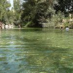 Pozas naturales refrescantes en la Costa del Sol y Serranía de ronda (Málaga)