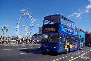 viajar en Londres y conocer cada rincón, cada monumento de forma cómoda y divertida en autobús