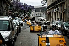 conducir por Lisboa, una experiencia más en compañía de los peques
