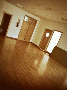 sala de El palo dónde se desarrollara el taller de teatro para infantil y juvenil