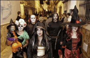 disfraces, terror, disfraces terroríficos en el pueblo del miedo Maroween