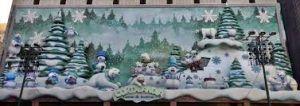 espectáculo de autómatas incluido en la programación navideña, diversión para los peques