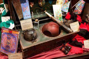 poder lanzar la pelota de Quidditch, uno de los juegos más conocidos de Harry Potter