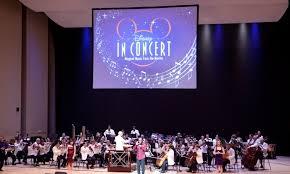 las mejores voces, música en concierto y imágenes de las películas de la mano de Disney in concert