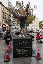 elfo doméstico del mundo Harry Potter, expuesto en Madrid