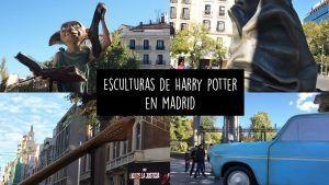 esculturas del mundo de Harry Potter por las calles de Madrid