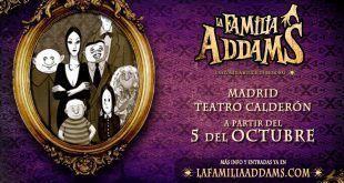 el musical de La familia Addams ya en Madrid
