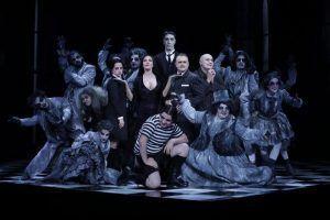 el musical de la familia Addams dónde tendrán que lidiar con Miércoles, una adolescente