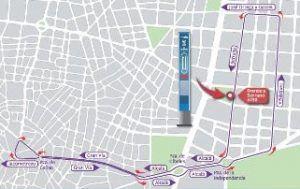 recorrido Naviluz, programación navideña Madrid