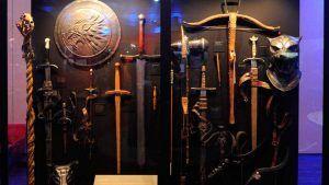 armas originales usadas en las grabaciones de Juego de Tronos