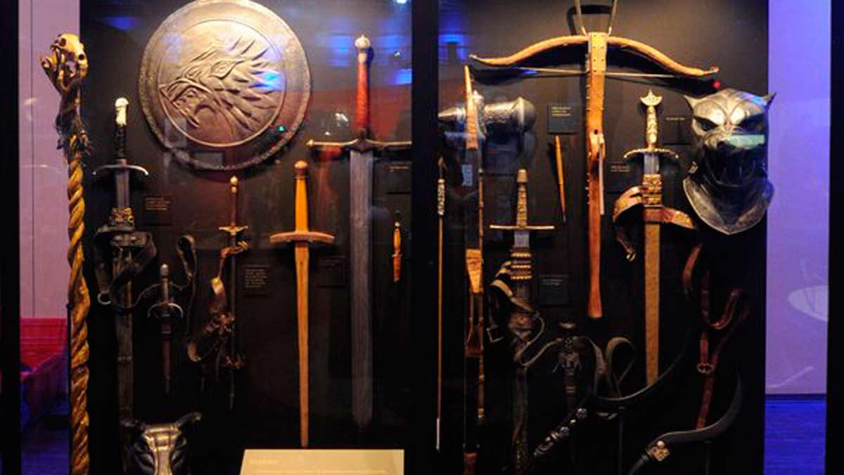 Juego de tronos y los siete reinos en exposici n en barcelona for Escaleras juego de tronos