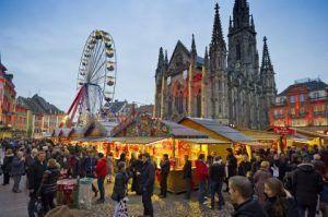 bonitos paisajes acompañados de tradicionales mercados de Navidad