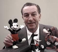 Walt Disney, el gran creador de los personajes de las películas de la factoria Disney