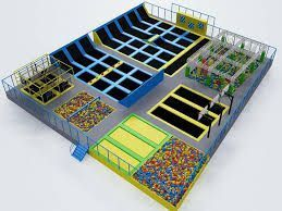 Plano de CostaJump, zonas diferenciadas y separadas para total seguridad y diversión