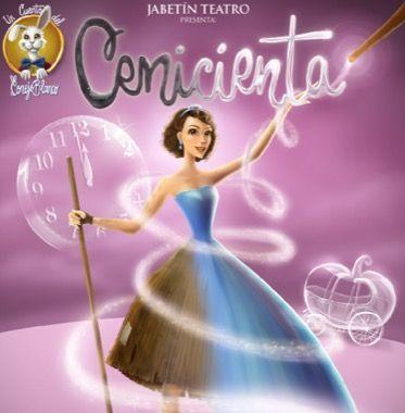 Cenicienta y Jabetín en teatro