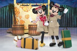 personajes de la factoria Disney On Ice