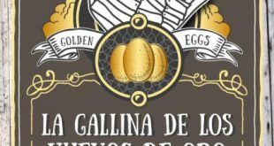 Cartel de la representación La Gallina de los huevos de oro, teatro y títeres unidos