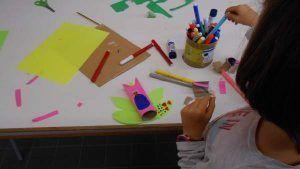 Mancharte taller infantil de pintura y diferentes técnicas artísticas