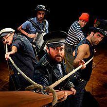 compañía de teatro Gorakada, representación del clásico Moby Dick