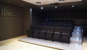 Spacinema, un hotel con cine para sus clientes, diversión y relajación en familia