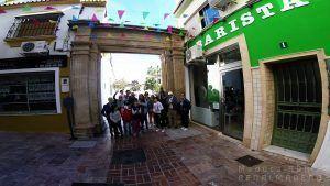 Una de las salidas de rutas guiadas y gratuitas realizadas por el pueblo de Benalmádena