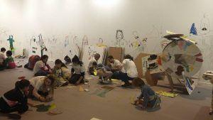 arte con materiales reciclados, ArcoKids, arte y solidaridad unidos en este taller.