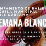 Campamento de Semana Blanca de Baile de la Escuela Municipal Baile Cártama en Málaga.