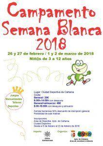 Campamento de Semana Santa para niños.