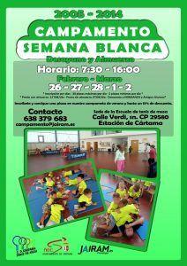 Campamento de Tenis de Mesa para niños entre los 4 y los 12 años