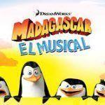 """Nuevo musical en vivo de la película animada, """"Madagascar el musical"""" en Barcelona."""