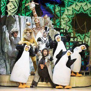 los divertidos pingüinos de la película