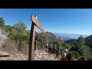 Ruta de senderismo por el Tajo de Quejigal, Benalmádena