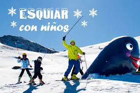 Ski en familia con monitores, diversión en la nieve