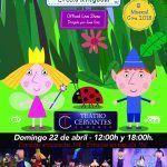 Espectáculo musical de El Pequeño reino de Ben & Holly en Almería.