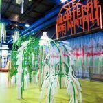 Exposición-taller El Blobterre de Matali Crasset para peques en Málaga
