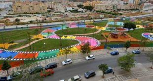 parque infantil dónde los peques disfrutarán de instalaciones inspiradas en cuentos infantiles.