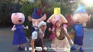Un divertido espectáculo en el reino de Ben & Holly, unos pequeños que viven grandes aventuras con su leal mascota Gastón