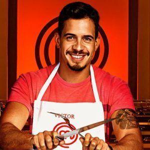 Victor Masterchef3, uno de los participantes del programa televisivo y que participará cada día en el campamento de cocina