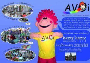 voluntarios para ayudar, divertir, entretener a niños en el área de oncología