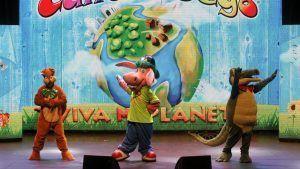 diversión, música, bailes con el nuevo espectáculo musical infantil del grupo Cantajuegos, para todas las edades