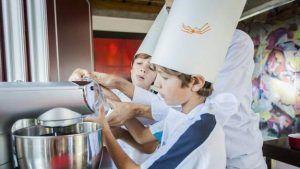 taller de cocina para niñ@s dónde aprender cocina de forma fácil y divertida