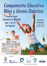 campamento educativo sobre diabetes, dónde aprender sobre la enfermedad y divertirse realizando actividades y deporte al aire libre