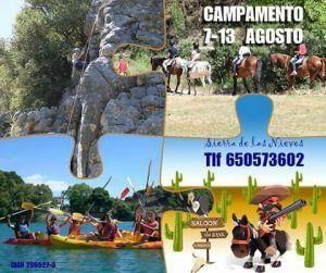 Campamento de verano para niñ@s dónde disfrutar de la naturaleza y de las actividades al aire libre
