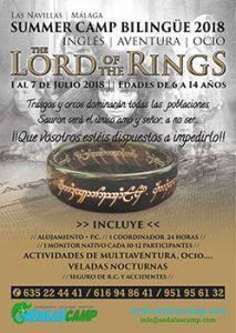 Summer Camp y El Señor de los anillos, un campamento para niñ@s con una temática e inmersión en inglés