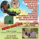 Campamento de aventuras Adventure Summer Camp 2018 en Málaga.