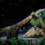 «Caminando entre dinosaurios» espectáculo único y en vivo en Madrid.