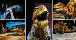 poder conocer y maravillarnos con los dinosaurios en vivo, todo un espectáculo.